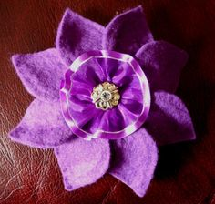 Purple petal cocktail hat/fascinator $25.00