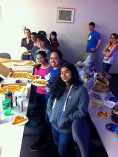 Yummy lunch at the Stony Brook University's International Women's Hackathon!