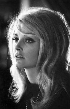 Sharon Tate #beauty #hair #eyeliner