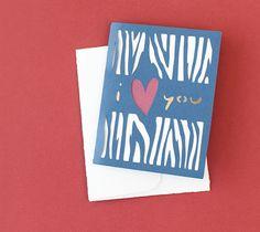 DIY I Heart You Card. Make It Now in Cricut Design Space