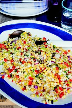 Sweet and Tangy Corn with Roasted Peppers   KitchenDaily.com
