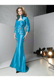 http://www.bonitanoiva.com/adoravel-sereia-com-casaco-tafeta-sem-alcas-vestido-de-noiva-da-mae-vwmvda0060  Adorável Sereia com Casaco Tafetá Sem Alças Vestido de Noiva da Mãe