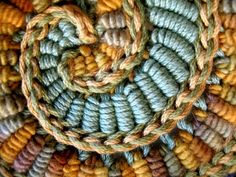 Organic and freeform crochet Prudence Mapstone