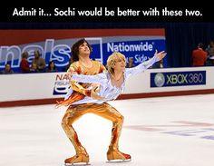 How to improve the Sochi Olympics.