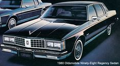 1980 Oldsmobile 98 Regency Sedan
