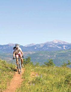 Mountain biking in Angel Fire, NM