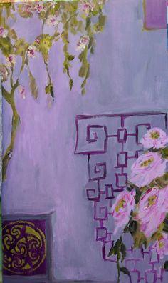 Asian Purple 2 print by femmehesse on Etsy, $24.00