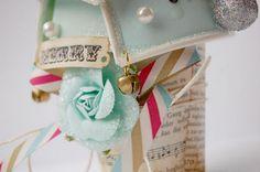 paper cup christmas tree by jana {scrabook abundance}