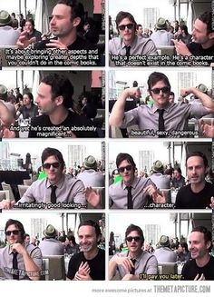 funny-Daryl-Dixon-behind-scenes-compliment