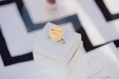 A Candy Heart Proposal