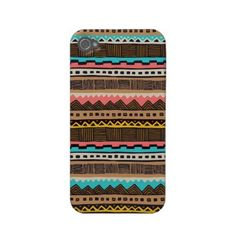 Aztec inspired iPhone case--LOVE!