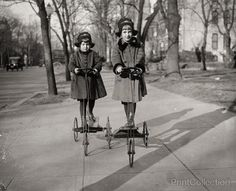america children, histori, vintag everyday, vintage, vintag photographi, danish, old photos, scooter, kid