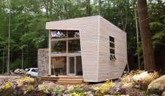 green design, eco design, sustainable design, Archi-Tectonics, prefab housing, mini me guest house, Carmel, upstate new york