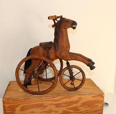 ANTIQUE TOY HORSE.