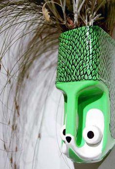 reciclagem de galões de plástico