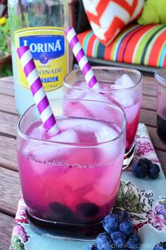 Blueberry Lemonade Spritzer