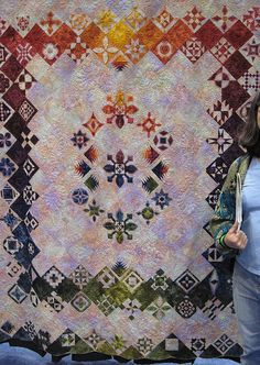 Dear Jane quilt by armchairquilter Claudia