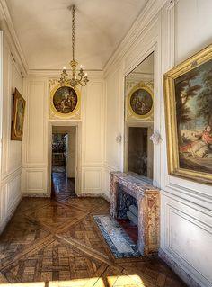 Appartements privés de Marie-Antoinette. Versailles