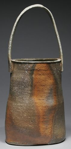 Jimmy Eddings |  'Basket' Stoneware; soda