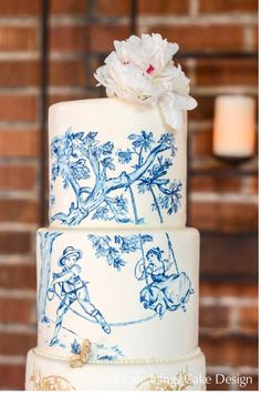 toile wedding ideas