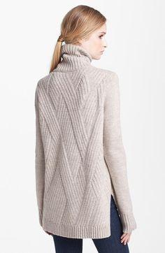 Vince 'Travelling' Ribbed Turtleneck Sweater | Nordstrom