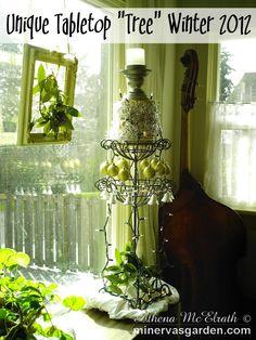 "Minerva's Garden:  Unique Tabletop ""Tree"" Winter 2012"