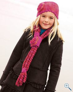 Noodle Scarf and Headband