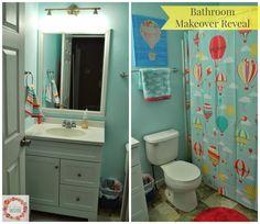 A Glimpse Inside: Bathroom Makeover Reveal