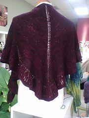 Ravelry: Princess Ruffles Shawl pattern by Vera Sanon