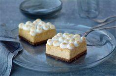 PHILADELPHIA Sweet Potato Cheesecake Bars Recipe - Kraft Recipes