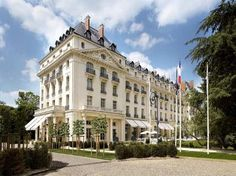 The Trianon Palace, Versailles, France.  This is the hotel we'll be staying at this time.  It's right on the Palace grounds!