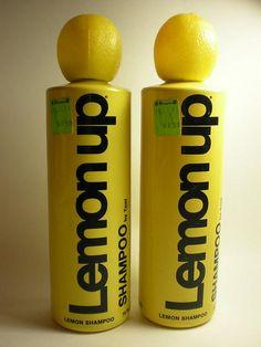 I loved Lemon Up Shampoo.  The smell and the cool lemon shaped top!