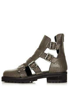 ASHLEIGH Multi Buckle Boots