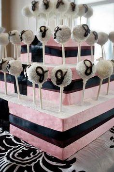 judi shower, cake pops, pop cake, cakepop, bridal shower cake pop, bridal showers, bridal shower cakes