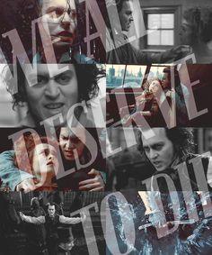 """""""Epiphany"""" Sweeney Todd"""