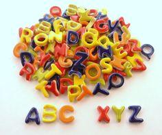 Alphabet tiles Ceramic mosaic tiles  Handmade by mosaicmonkey, $18.95