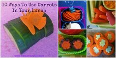 10 ways to use carrots in your lunch box