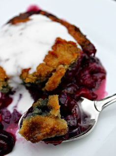 Berry Cobbler (Grain, Dairy, Nut Free)  #PrimallyInspired