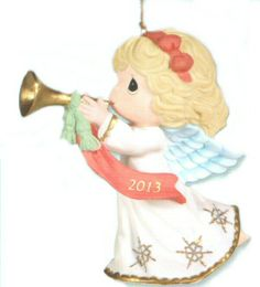 Precious Moments 2013 Christmas Ornament Only $13.99 Save 44% off while they last. Click image to order.