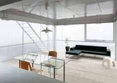Suppose Design Office's House in Tousuienn has translucent walls interior design, houses, design offic, architectur, offices, amaz interior, transluc wall, suppos design, live room