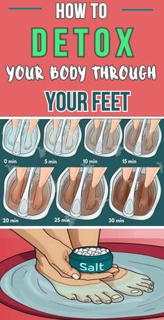 HOW TO CLEANSE YOUR BODY FROM TOXINS THROUGH YOUR FEET - USA HEALTH