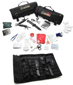 12 Survivors Roll Up Survival Kits