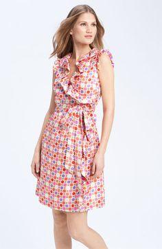 kate spade new york 'aubrey' wrap dress