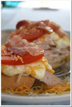 Kentucky Hot Brown Sandwich  This traditional Kentucky Derby fare dates all the way back to the rip-roaring '20s. A glorious cheese sauce topping really takes it to the next level.