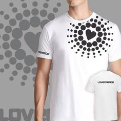 Love parade, festival , t-shirt design, man & woman, sizes S-XL, any color by Kidies on Etsy