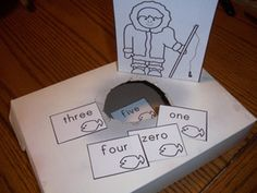 Polar themed sight word activity  from Making Learning Fun.