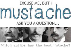 Just For Fun: The 10 Best Mustaches of Children's Authors