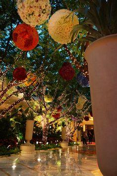 Wynn lobby Las Vegas.