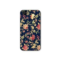 Rubber iphone 4 case  Vintage Embroidery Floral by CaseHive, $19.99