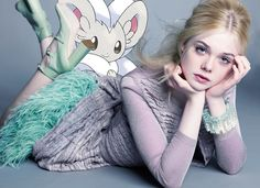 marie claire july 2011; elle fanning & cinccino  *thanks again marie claire for sending over the HQ pics!